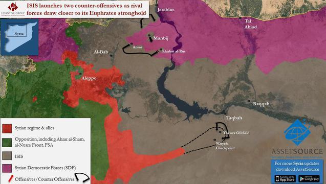 harta isis siria