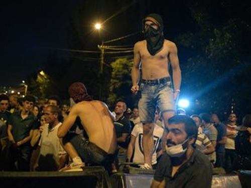 erevan proteste