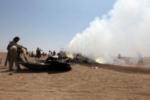 elicopter doborat Siria2