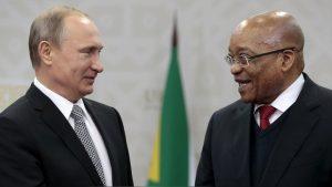 Vladimir Putin Jacob Zuma